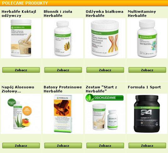 produkty herbalife wrocław